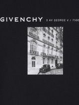 GIVENCHY Sweatshirts Crew Neck Pullovers Sweat Street Style Long Sleeves Cotton 5
