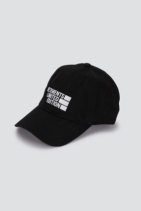 VETEMENTS Unisex Blended Fabrics Caps