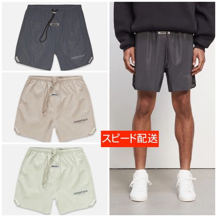 FEAR OF GOD ESSENTIALS Unisex Collaboration Street Style Shorts