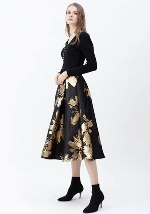 Flower Patterns Party Style Elegant Style Formal Style