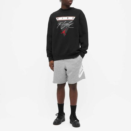 Nike Sweatshirts Crew Neck Pullovers Unisex Sweat Street Style Long Sleeves 2