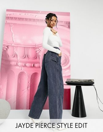 ASOS Denim Street Style Cotton Wide & Flared Jeans