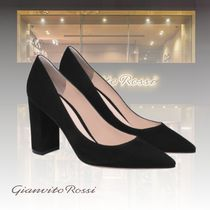 Gianvito Rossi Casual Style Suede Party Style Elegant Style Bridal