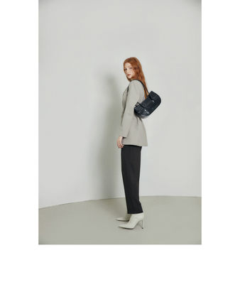 Casual Style 2WAY Plain Office Style Formal Style  Totes