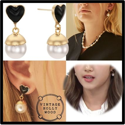 VINTAGE HOLLYWOOD Casual Style Street Style Earrings