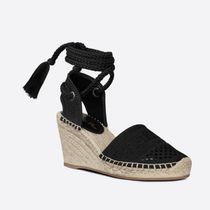 Christian Dior Other Plaid Patterns Plain Toe Round Toe Casual Style