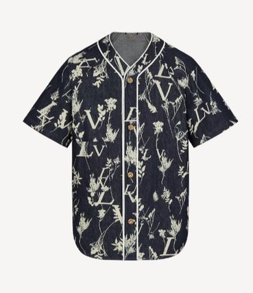 Louis Vuitton Cotton Short Sleeves Luxury Shirts