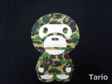Camouflage Street Style Cotton Short Sleeves T-Shirts