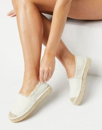 ASOS Round Toe Casual Style Plain Street Style Slip-On Shoes