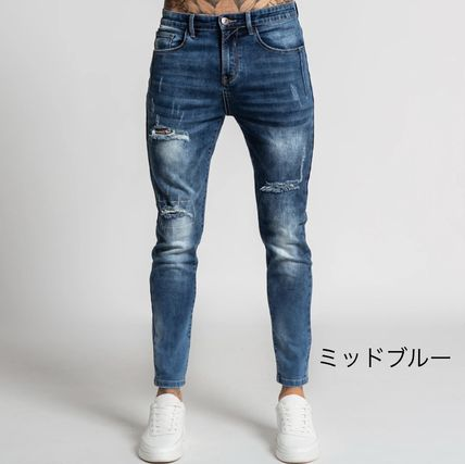 Bee Inspired Clothing More Jeans Denim Street Style Plain Logo Jeans 2