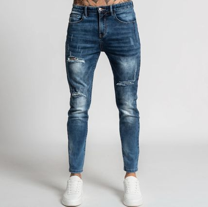 Bee Inspired Clothing More Jeans Denim Street Style Plain Logo Jeans 3