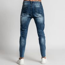Bee Inspired Clothing More Jeans Denim Street Style Plain Logo Jeans 4