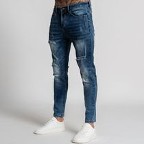 Bee Inspired Clothing More Jeans Denim Street Style Plain Logo Jeans 5