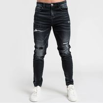 Bee Inspired Clothing More Jeans Denim Street Style Plain Logo Jeans 8
