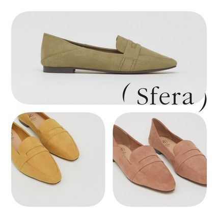 Sfera Casual Style Plain Elegant Style Pumps & Mules