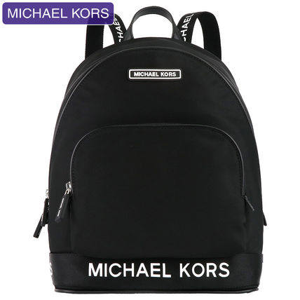 Michael Kors Plain Backpacks