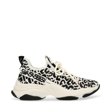 Leopard Patterns Platform Lace-up Casual Style