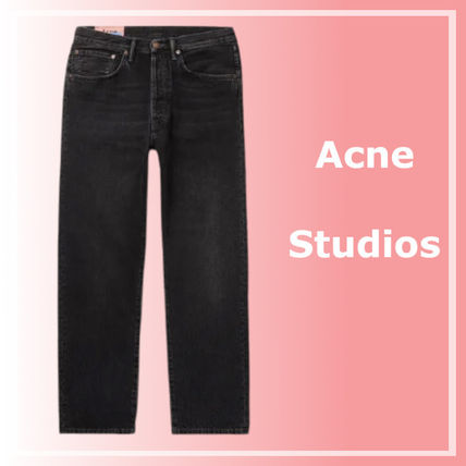 Ance Studios More Jeans Denim Street Style Plain Cotton Jeans