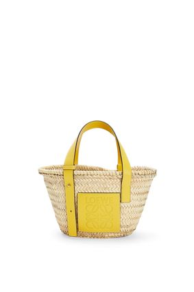 LOEWE Logo Casual Style Calfskin Plain Leather Totes