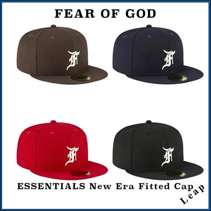 FEAR OF GOD ESSENTIALS Street Style Collaboration Caps