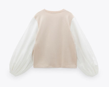 ZARA Sweat Long Sleeves Hoodies & Sweatshirts
