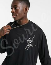 ASOS Shirts Pullovers Unisex Street Style Long Sleeves Cotton Logo 4