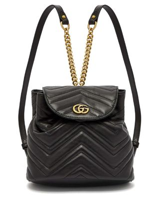 GUCCI Logo Casual Style Backpacks
