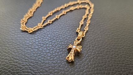 CHROME HEARTS CH CROSS Unisex Necklaces & Chokers
