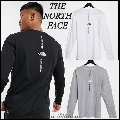 THE NORTH FACE Long Sleeve Crew Neck Long Sleeves Long Sleeve T-shirt Logo Outdoor