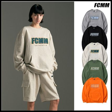 FCMM Sweatshirts Long Sleeves Logo Sweatshirts