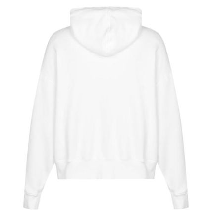 Palm Angels Hoodies Pullovers Unisex Street Style Long Sleeves Plain Cotton 2