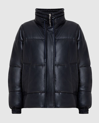 Nylon Street Style Plain Medium Down Jackets