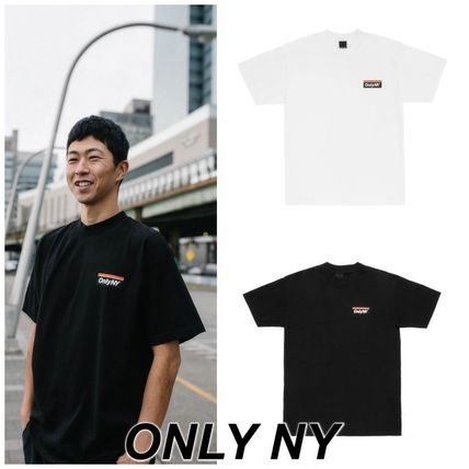 ONLY NY More T-Shirts Street Style Short Sleeves Logo Skater Style T-Shirts