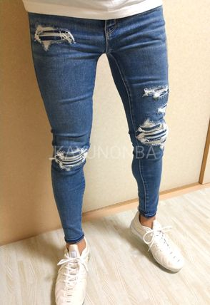 American Eagle Outfitters Skinny Unisex Street Style Skinny Jeans 3