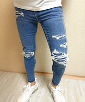 American Eagle Outfitters Skinny Unisex Street Style Skinny Jeans 8