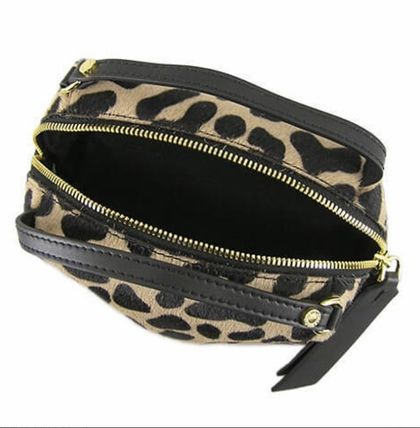 Leopard Patterns 2WAY Other Animal Patterns Leather