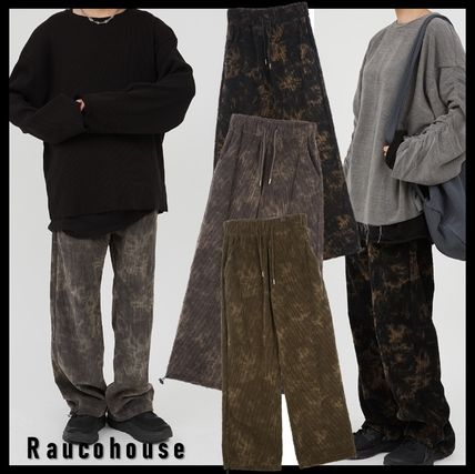 Raucohouse Casual Style Street Style Pants