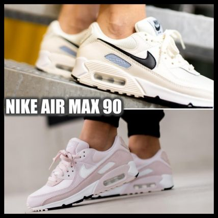 Nike AIR MAX 90 Logo Platform Casual Style Street Style