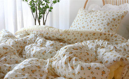 Flower Patterns Plain Comforter Covers Comforter