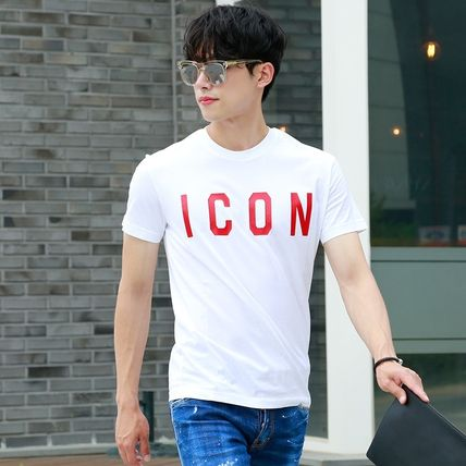 D SQUARED2 More T-Shirts Unisex Street Style Cotton Short Sleeves Logo Luxury 2