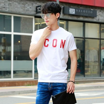 D SQUARED2 More T-Shirts Unisex Street Style Cotton Short Sleeves Logo Luxury 3