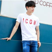 D SQUARED2 More T-Shirts Unisex Street Style Cotton Short Sleeves Logo Luxury 4