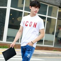 D SQUARED2 More T-Shirts Unisex Street Style Cotton Short Sleeves Logo Luxury 7