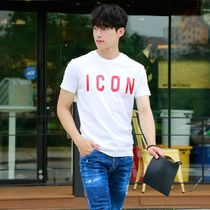 D SQUARED2 More T-Shirts Unisex Street Style Cotton Short Sleeves Logo Luxury 11