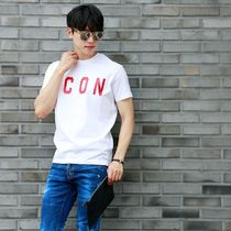 D SQUARED2 More T-Shirts Unisex Street Style Cotton Short Sleeves Logo Luxury 14
