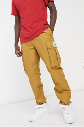 Nike Tapered Pants Street Style Plain Cotton Logo Tapered Pants