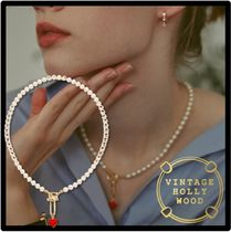 VINTAGE HOLLYWOOD Casual Style Street Style Formal Style  Necklaces & Pendants