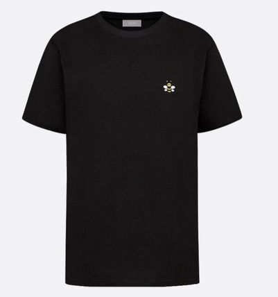 Christian Dior More T-Shirts Pullovers Unisex Street Style Plain Logo Luxury T-Shirts 2