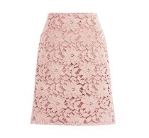 Pencil Skirts Flower Patterns Casual Style Medium