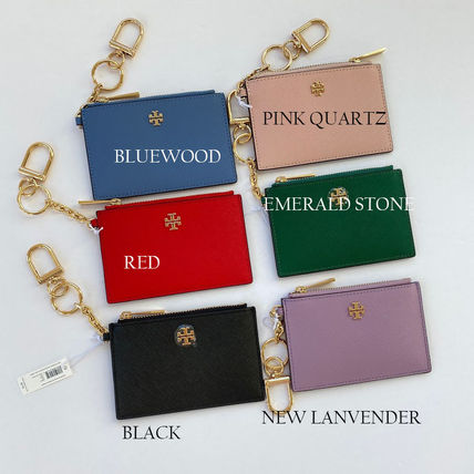Tory Burch Saffiano Plain Card Holders